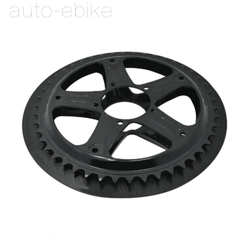 BAFANG BBS01 BBS02 Chain Wheel and Replacement Chain Guard Black 44T 46T 48T 52T Chainwheel Teeth